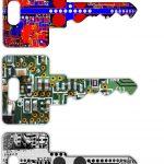 sfondo duplicazione chiavi